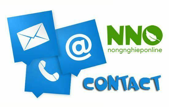 Thông tin liên hệ Nông nghiệp Online - NNO