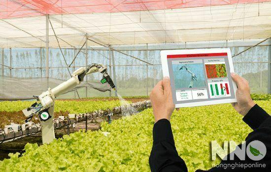 Nông nghiệp 4.0 thực trạng và định hướng