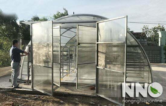 Máy sấy nông sản năng lượng mặt trời