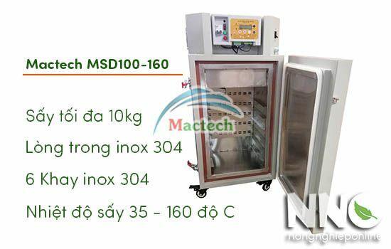 Máy sấy nhiệt độ cao mini Mactech