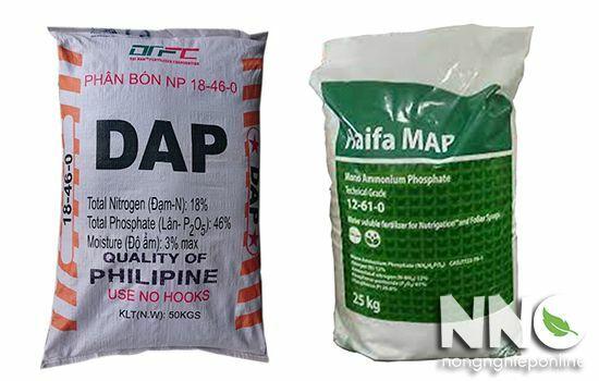 Phân DAP, MAP