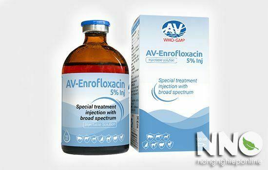 Thuốc kháng sinh phổ rộng Enrofloxacin