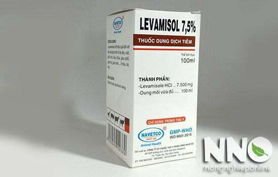 Thuốc tẩy giun sán Levamisol
